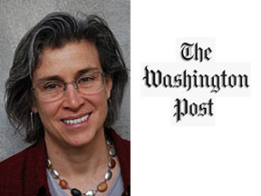 Image of Professor Wood and Washington Post Logo