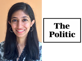 Image of Sarah Khan and icon for The Politic