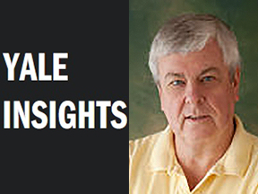Image of Yale Insights logo and Professor Paul Bracken