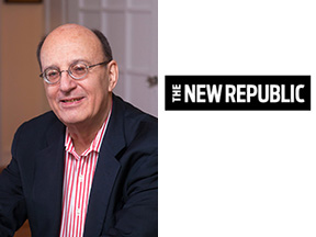 Walter Shapiro and icon for The New Republic