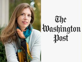 Professor Helene Landemore and the Washington Post icon