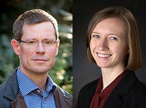 Professor Gregory Huber and Lilla Orr