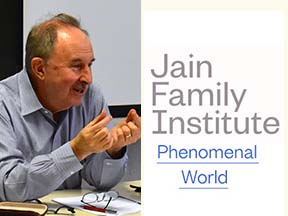 Professor John Roemer and the Jain Family Institute Icon