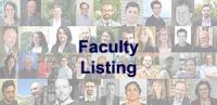 Click to get to our Faculty Listing.