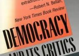 Robert Dahl's book Democracy and Its Critics