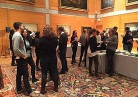 Image credit: 2018 Yale McDougal Graduate Student Life Grad Art Party, Yale Center for British Art, photograph by Jennifer Reynolds-Kaye