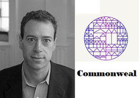 Image of Professor Bryan Garsten and logo for the Commonweal online lmagazine