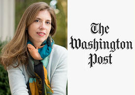 Professor Helene Landemore and the Washington Post icon