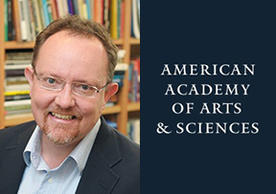 Professor Steven Wilkinson and icon for the American Academy of Arts and Sciences