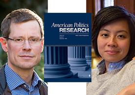 Professor Gregory Huber and Graduate Student Jennifer Wu