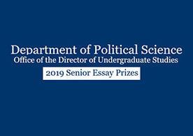 DPS-DUS 2019 Senior Essay Prizes